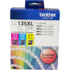 Brother LC-135XLCL Ink Cartridge High Yield  Colour Value Pack