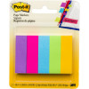 Post-It 670-5AU Page Markers 12.7x44.4mm Jaipur Assorted 100 Sheet Pad Pack of 5