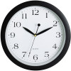 Carven Wall Clock 30cm Black Frame