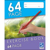 Sovereign Exercise Book 225x175mm 8mm Ruled 64 Page