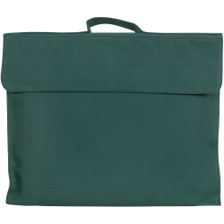 Celco Library Bag 370x290mm Dark Green