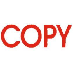 Deskmate Pre Ink Stamp C01A Copy Red
