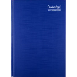 Cumberland Premium Diary A5 2 Days To Page Blue