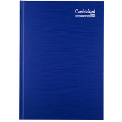 Cumberland Premium Diary A5 Week To View Blue