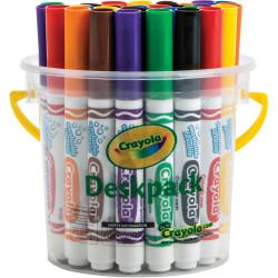 Crayola Ultra Clean Washable Broadline Marker Classic Assorted Deskpack of 32