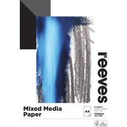 Reeves Mixed Media Pad A5 200gsm 15 Sheet