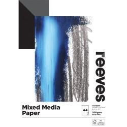 Reeves Mixed Media Pad A4 200gsm 15 Sheet